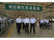 山东省日照市市长刘星泰来五征调研
