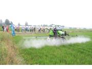 同步世界 值得信赖——雷沃植保机械召开区域产品演示会