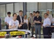 日本采购团专访天鹰兄弟  亲睐植保无人机