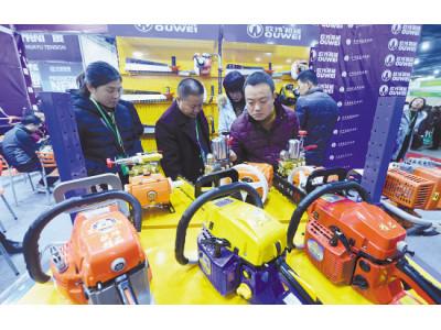 第二届中国(台州)农机展览会开幕