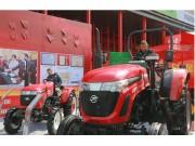 五征亮相2016全国农业机械及零部件展览会