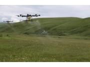 四川首次采用无人机进行草原虫害防治取得显著成效