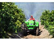 雷沃拖拉机助力土耳其果园生产