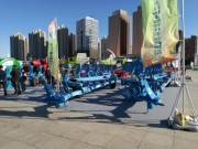德國LEMKEN參加第五屆黑龍江綠色食品產業博覽會和哈爾濱世界農業博覽會