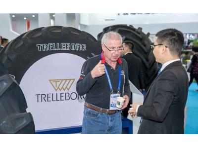 特瑞堡创新产品闪耀2017中国农机展览会