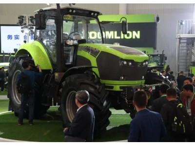 中联重科高端拖拉机为农业现代化提速