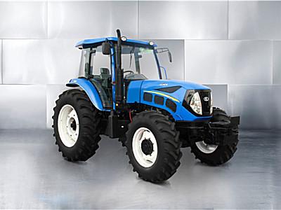 用这个大马力拖拉机干农活既高效又舒心