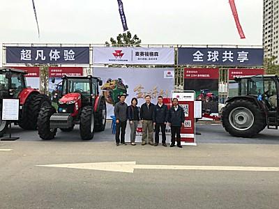 实力助阵双高建设 麦赛福格森精彩亮相广西甘蔗机械化博览会