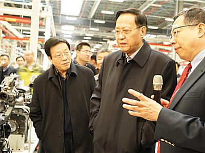 全国人大副委员长张宝文视察爱科(常州)生产基地