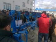 德國LEMKEN設備亮相黑龍江省大豆全程機械化新技術培訓大會