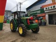 相伴耕耘之路 约翰迪尔天津工厂第4万台拖拉机交付用户