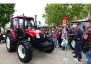 YTO多种机型惊艳亮相塞尔维亚国际农业展览会