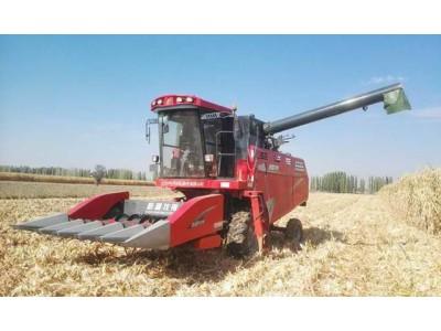 新一代玉米籽粒收获机牧神4YZT-5,一机多用,亮点满满
