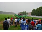 """展现中国农机具""""智""""造—亚非拉发展中国家农业工程界人员到大华机械参观考察"""