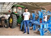 這個熱衷于使用國外農機的小伙為何選擇了國產犁具
