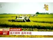 CCTV新闻频道特别节目《还看今朝•湖北篇》,沃得锐龙助力湖北农业结构转型