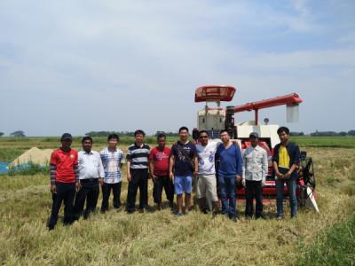 深耕一带一路  雷沃重工收获印尼政府150台水稻机订单