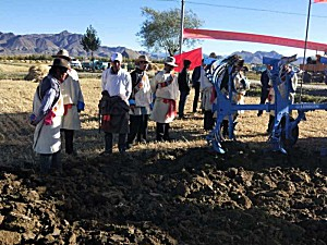 德国LEMKEN参加日喀则市中国农民丰收节演示活动