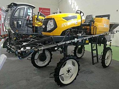 中农丰茂两大产品系列惊艳亮相2018中国国际农机展