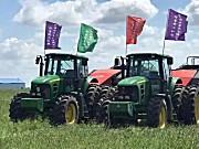 先进的农机设备为甘肃亚盛田园牧歌草业集团的发展添彩