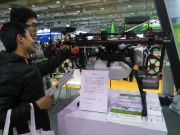 聚焦新旧动能转换 山东农机展中植保无人机再秀演技