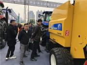 凱斯大農機亮相2018年黑龍江農機產品展示交易會