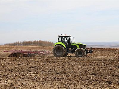 中联重科智能农机让东北春耕更精准