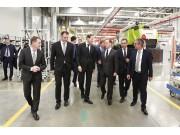 俄罗斯总理梅德韦杰夫赞扬科乐收(CLAAS)的创新贡献