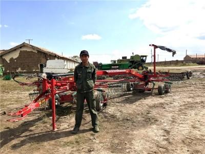格蘭摟草機:4年作業4萬畝地,保養費僅不到1萬