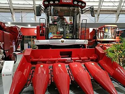 勇猛新产品亮相2019国际农机展,三系列产品促玉米收获机械化升级