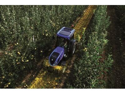 纽荷兰发布专用拖拉机系列T4 V/N/F新悬挂前桥