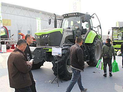 中联重科亮相第十四届吉林现代农业机械装备展