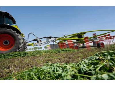 少沙、多奶——科樂收(CLAAS) LINER系列摟草機