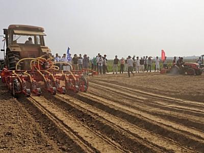意大利馬斯奇奧參加武漢市2019年露地蔬菜生產機械化現場演示會