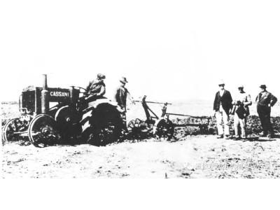 道依茨法尔百年传奇故事(连载) | 1927年世界第一台柴油拖拉机诞生