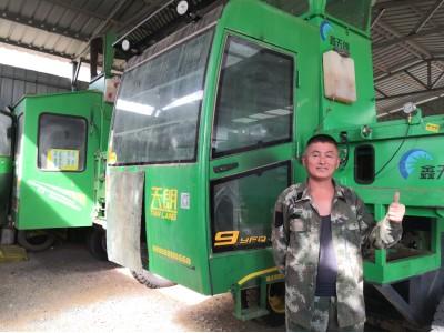 凌海波:经营农机要跟上时代,下一步更新天朗全自动套袋打捆机