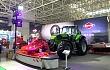 库恩三联式割草压扁机首次亮相国际农机展