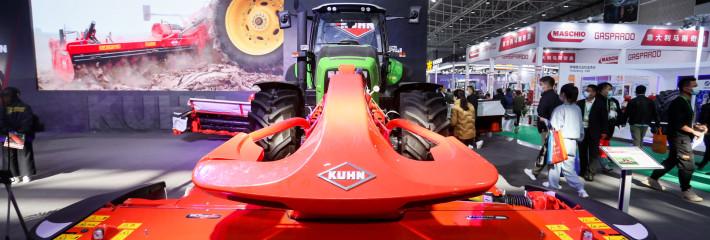 这些农机新产品在国际农机展惊艳亮相!看完热血沸腾!