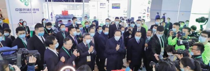 第十八届中国国际农产品交易会在重庆开幕,1.2万余家企业携8万余种展品参展