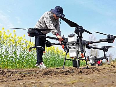 2020年出货量破万,大疆农业逆势增长