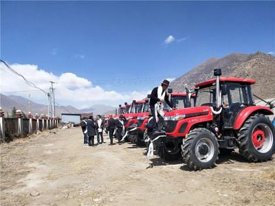 """五征交付""""賺錢機器"""" ,助力藏區畜牧業發展"""