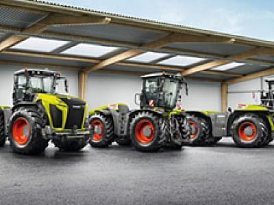 科乐收( CLAAS )XERION 系列拖拉机产品特辑