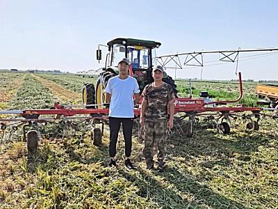 格蘭牧草全程機械化設備,專業農機合作社的首選