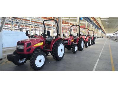 于洪區百余名新型職業農民來到遠大石川島農機(沈陽)有限公司參觀學習