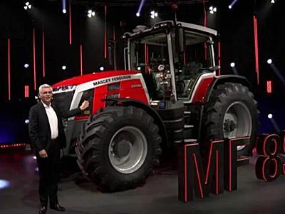 """開創拖拉機""""新紀元"""":麥賽福格森新品MF 8S系列耀世而來"""