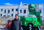 佟勇奇:秸稈飼料打捆機我推薦鑫天朗 質量可靠服務好