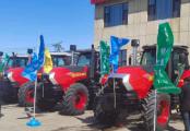 泰鴻智能拖拉機產品TH1604F成功完成吉林首秀