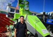 于信坤:農機事業值得長期投入,順邦打捆機值得長久合作