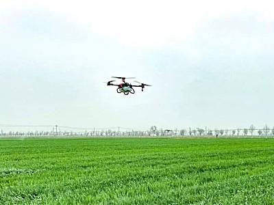 极飞30万新农人计划—徐州夫妻轻松管理千亩农地,全因农业无人机帮大忙