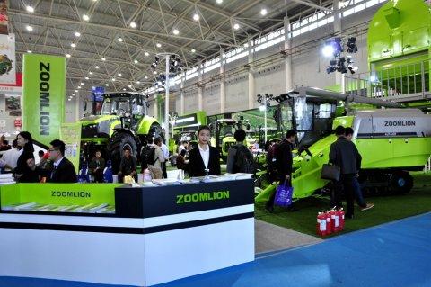 2017武汉国际农机展中联重科风采